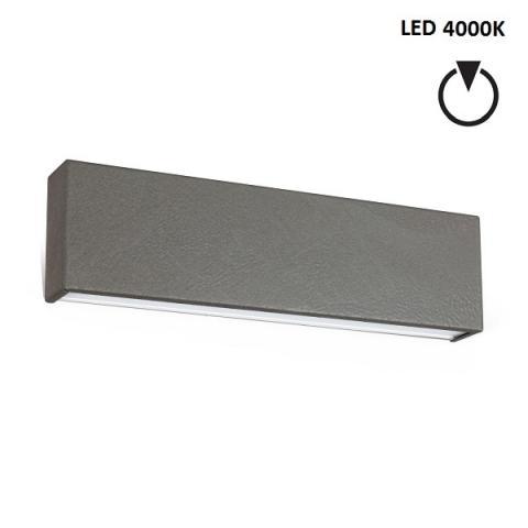 Аплик M - LED 14W 4000K - бетоново сив