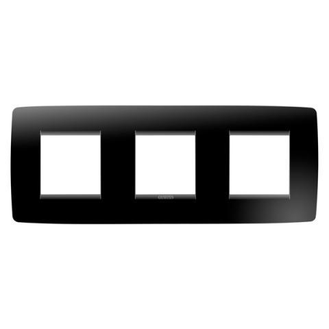 Рамка ONE International 2+2+2 хоризонтална - Toner Black