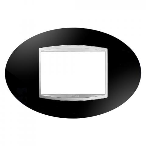 ART 3 gang plate - Toner Black