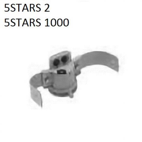 Single pole top bracket for Ø60-76mm poles - 5STARS2 - 5STARS1000