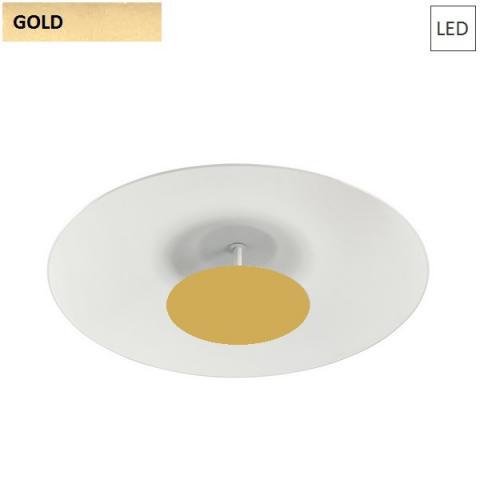 Ceiling Lamp Ø650 LED 34W 3000K white/gold