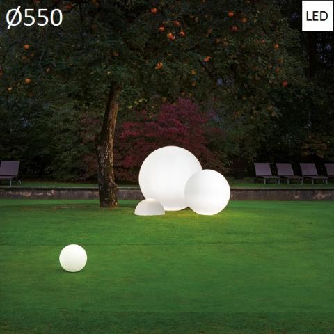 Наземна лампа Ø550 LED 20W IP65 бялa