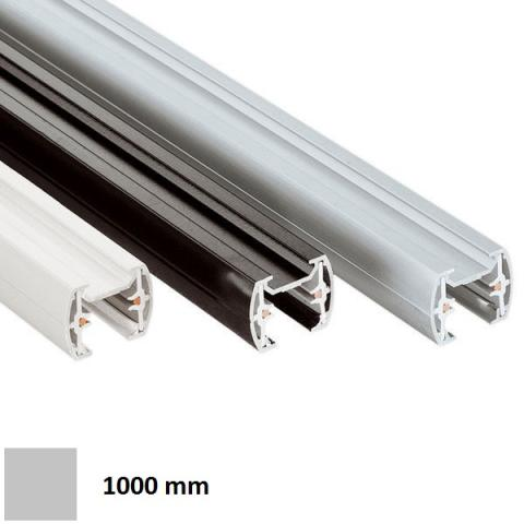Single-phase track MM 1m - silver