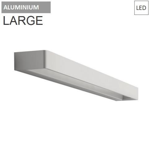 Аплик 65cm 30W 3000K LED бял/алуминий