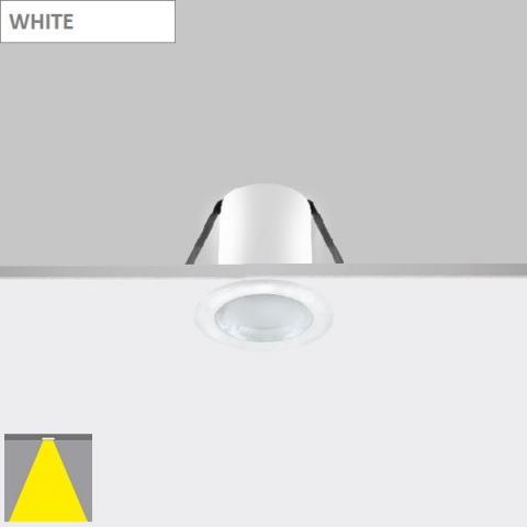 Фиксирана луна Ra 4 LED 4.6W бяла