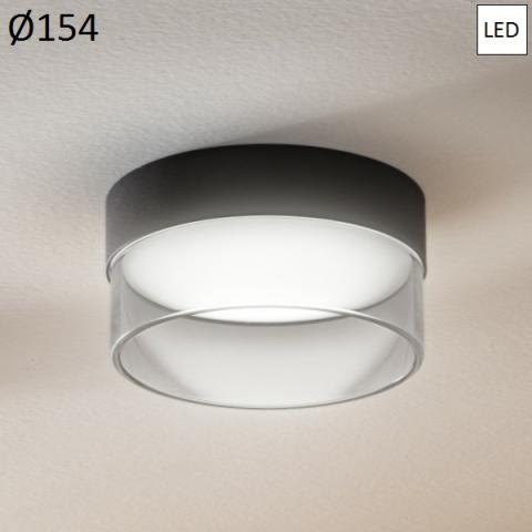 Ceiling Lamp Ø154mm LED 15W 3000K White/Transparent