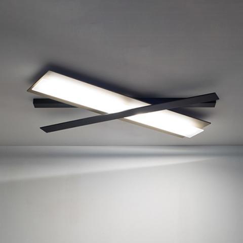 Ceiling Light LED champagne - black