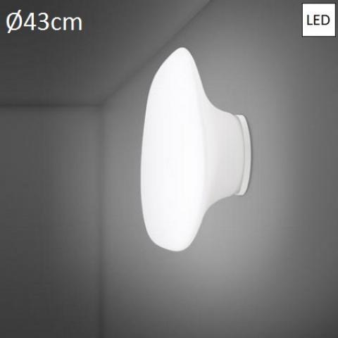 Плафон Ø43cm LED бял