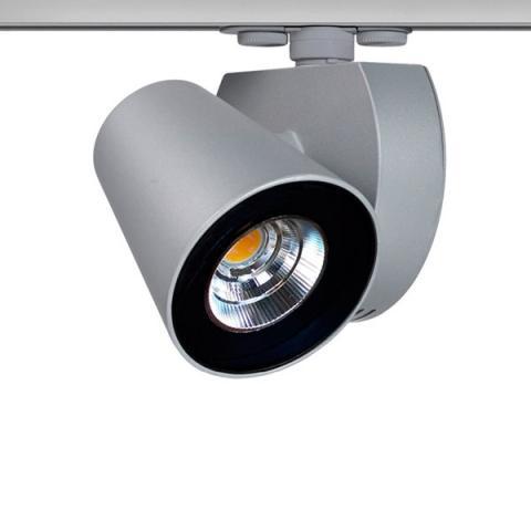 Spotlight Merlino 110 LED 33W 4250lm 3000K silver