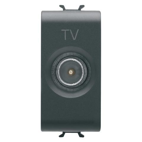 TV розетка преходна 10dB
