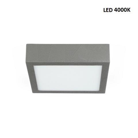Ceiling light M - LED 17W 4000K - beton grey