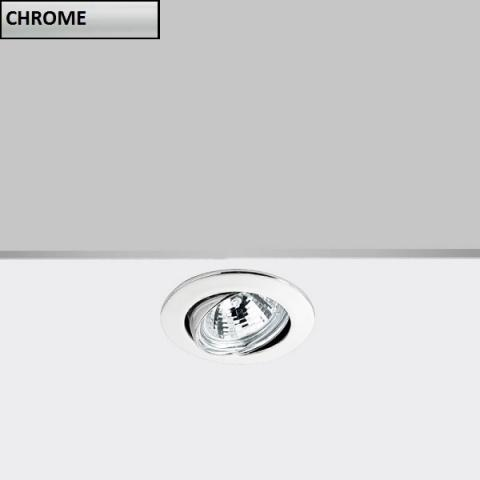 Tiltable downlight DECO GU5.3 chrome
