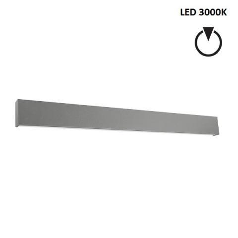 Аплик XL - LED 41W 3000K - бетоново сив