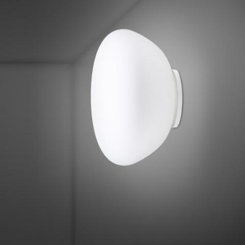 Wall/ceiling lamp Ø42cm E27 White