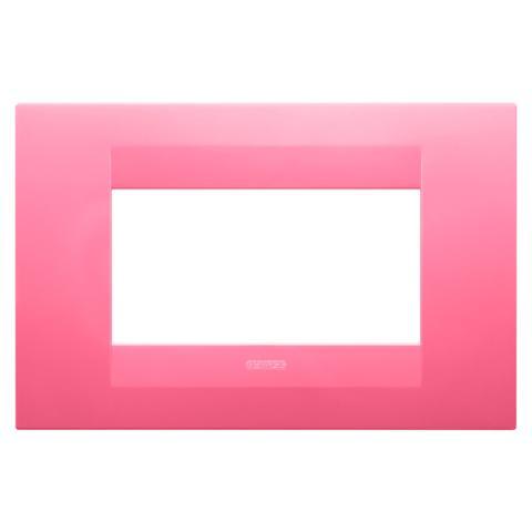 GEO plate 4 gang - Sapphire Pink