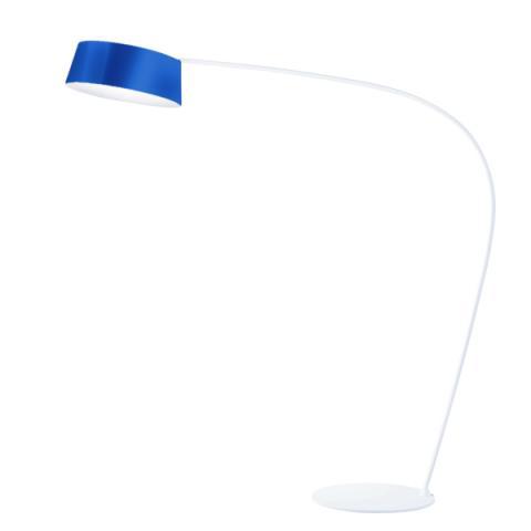 Floor lamp Oxygen blue