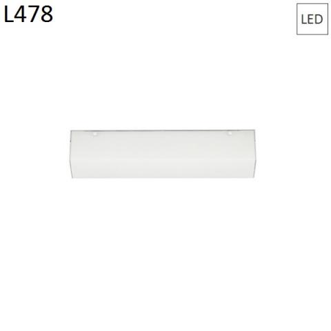 Wall/ceiling lamp 478mm 22W LED