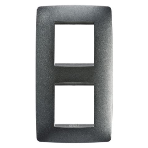 Рамка ONE International 2+2 вертикална - Slate