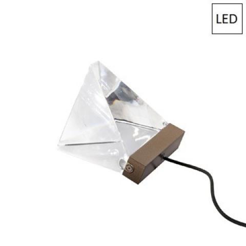 Настолна лампа LED бронз