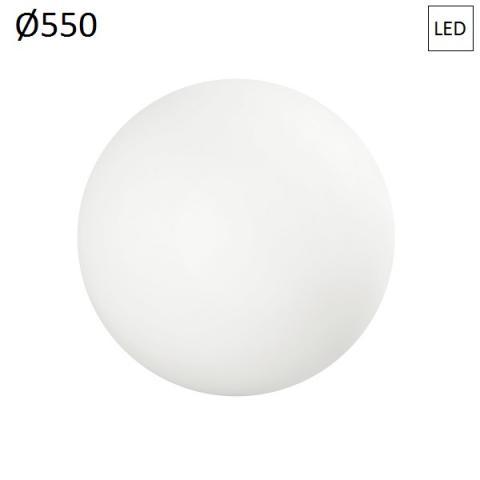 Плафон Ø550 LED 20W IP65 бял
