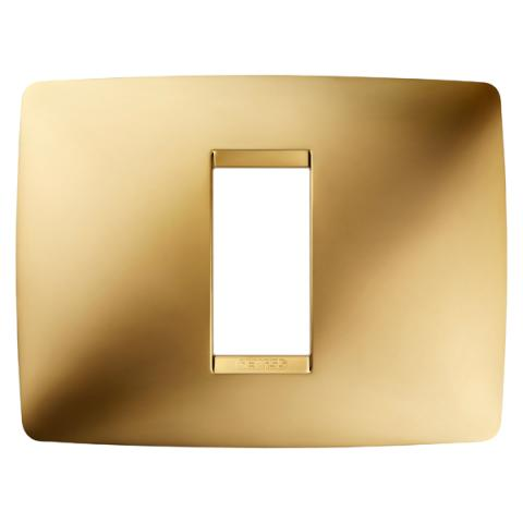 Рамка ONE 1 модул Gold