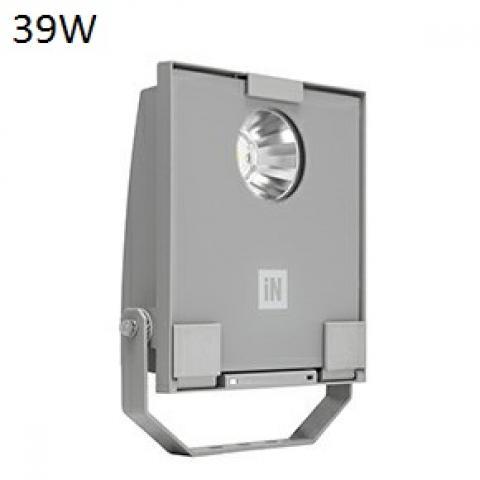 Floodlight GUELL 1 C/I LED 39W grey
