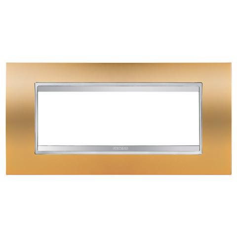 Рамка LUX 6 модула Gold