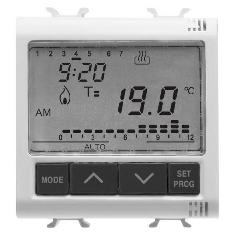 Timed thermostat +5°C to +40°C