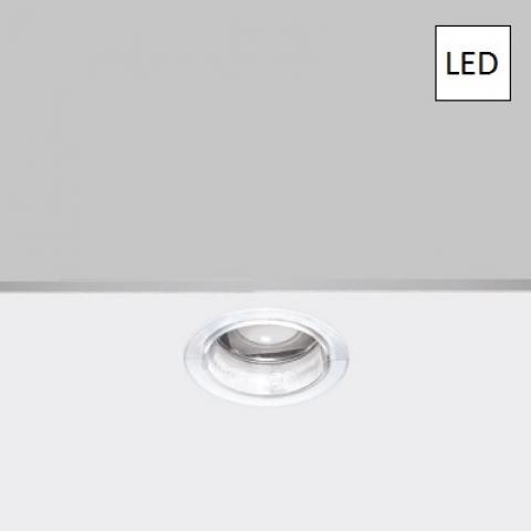Мини-луна DJ LED бяла