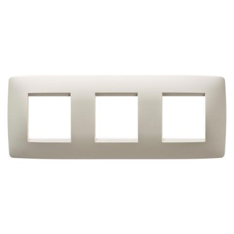 Рамка ONE International 2+2+2 хоризонтална - Ivory