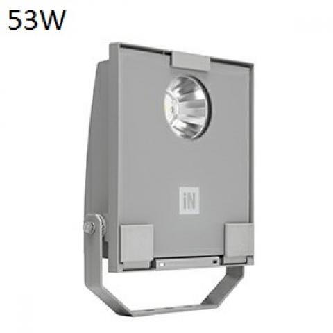 Floodlight GUELL 1 C/I LED 53W grey