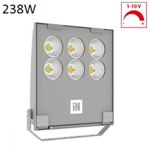 Floodlight GUELL 2.5 C/I LED 238W dimmable