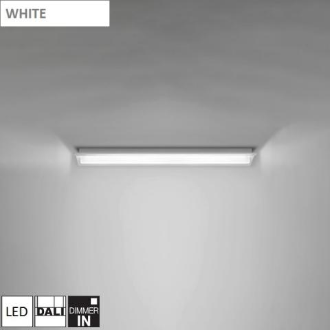 Плафон 700mm LED DALI бял