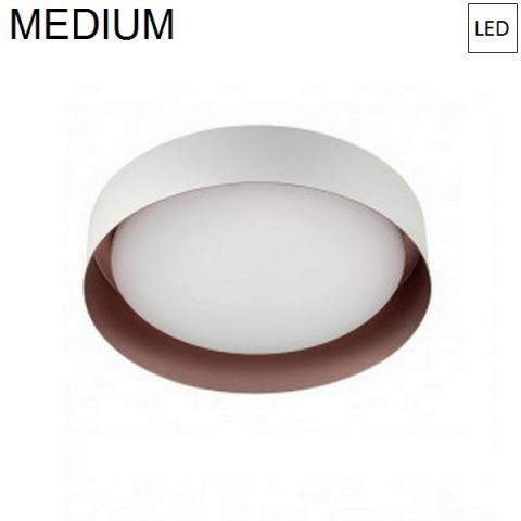 Ceiling Lamp Ø332mm LED 17W 3000K White/Copper