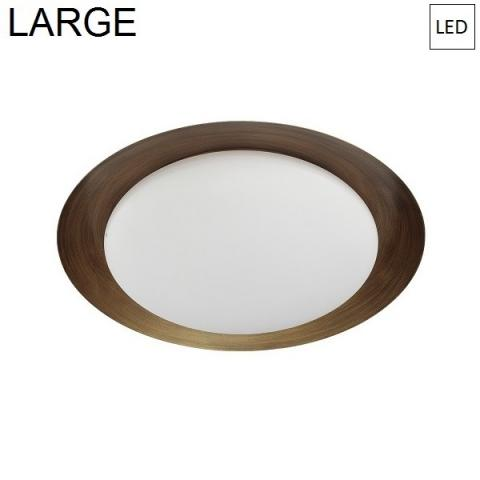 Плафон Ø471mm LED 22W 3000K бронз