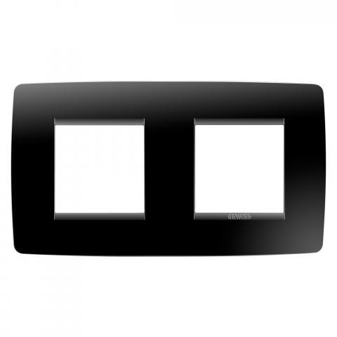 Рамка ONE International 2+2 хоризонтална - Toner Black
