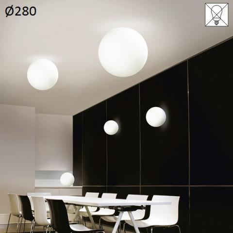 Ceiling lamp Ø280 E27 max 30W white