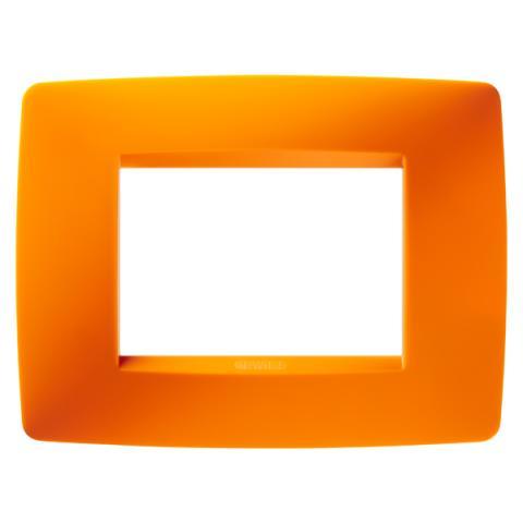 Рамка ONE 3 модула Opal Orange