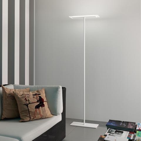 Floor lamp LED 28W IP40 white