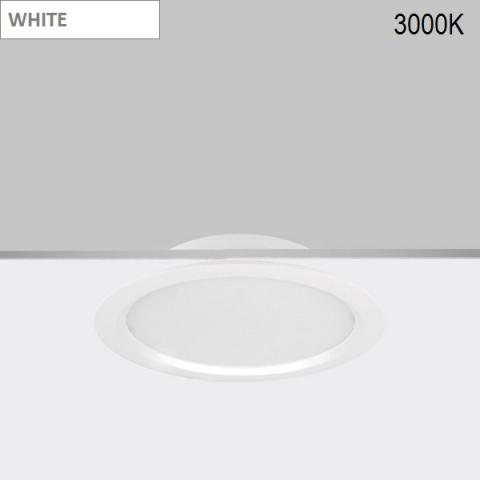 Downlight Ra 16 LED 18W 3000K white