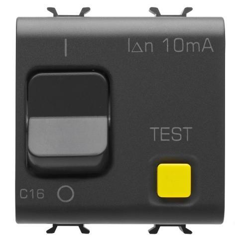 Residual miniature circuit breaker 1P+N 16A 10mA 3kA 230V AC