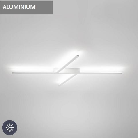 CEILING LIGHT LED Polished Aluminium