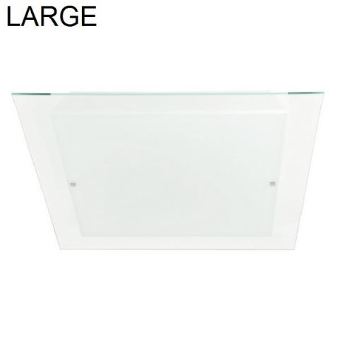 Wall/ceiling lamp 62x62cm 3xE27 IP20