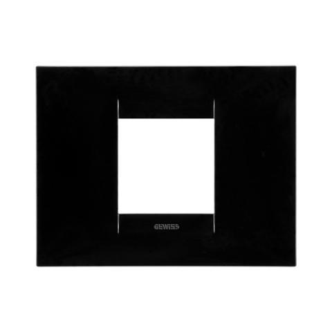 GEO plate 2 gang - Toner Black