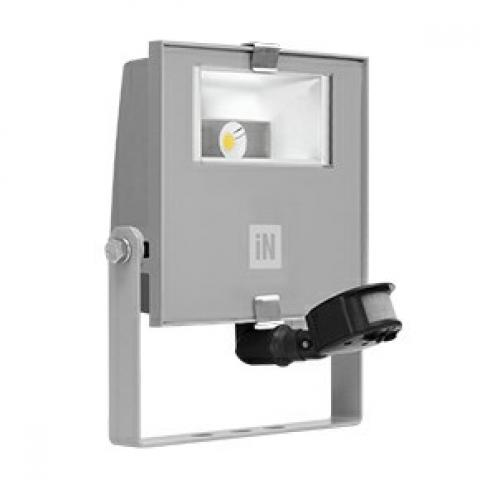 Прожектор GUELL ZERO DETEK A/WLED 15W сив, сензор за движение