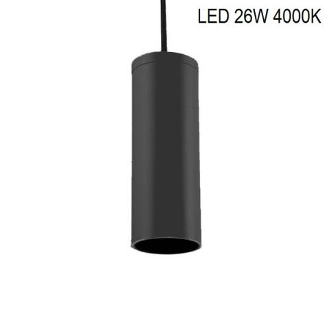 Suspension PERFETTO COMPACT-S LED 26W 4000K black