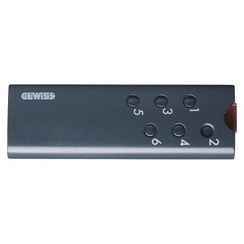 INFRARED REMOTE CONTROL - 6 channels