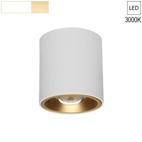 Ceiling Lamp/Spot  Ø80 H120 LED 7.5W white/Gold