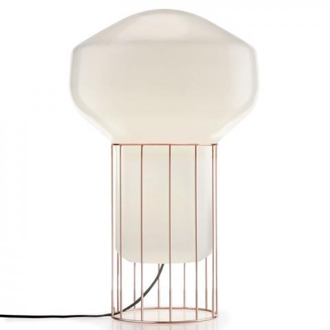 Настолна лампа H53cm Ø33cm мед