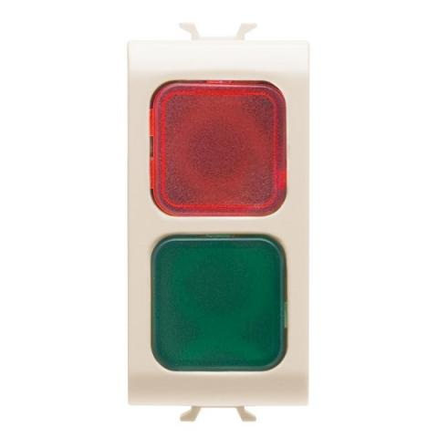 Doble indicator lamp red/green